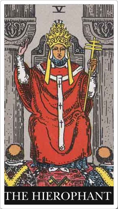 V. The Hierophant